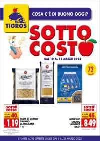 Volantino Tigros