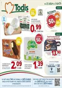 Volantini todis volantini e offerte alimentari discount for Volantino offerte despar messina