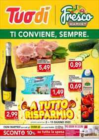 Volantino Tuodì Lazio